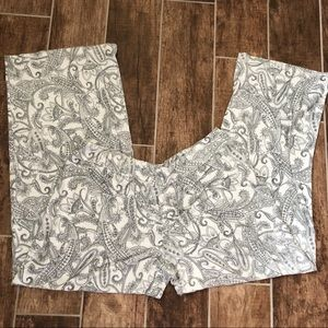 SOMA Lounge Pants PAJAMA XL Women's Paisley